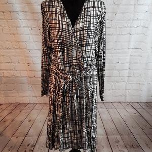 Ava & Viv Faux Wrap Dress Sz 2X